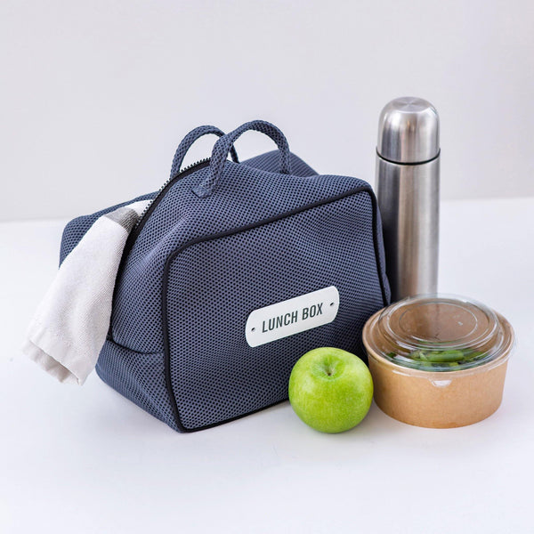 grey lunch box bag waterproof