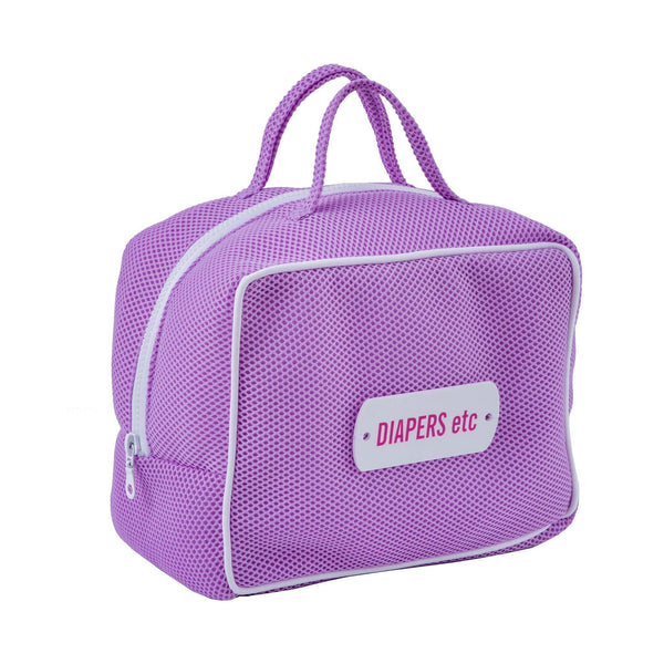 lilac diaper bag waterproof kids travel