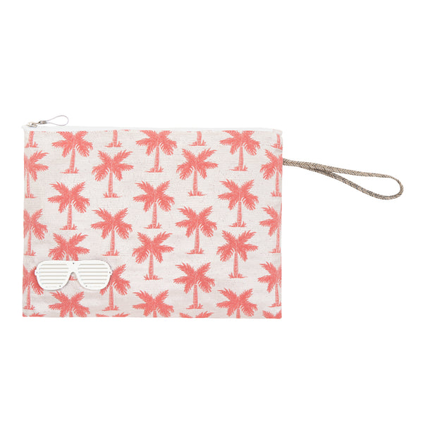waterproof pouch spring summer collection 2021 palm trees -KOKU CONCEPT