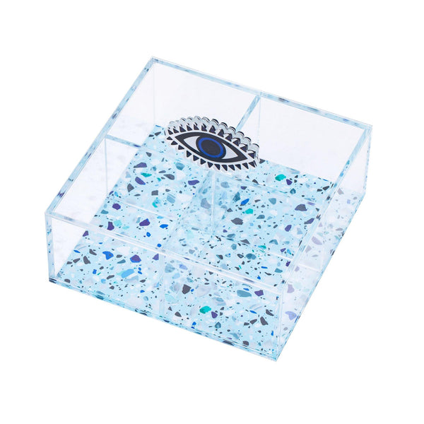 "COSIER Multibox Small ""Hala Evil Eye Mosaic"""