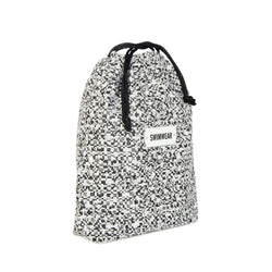 black white drawstring pouch spring summer collection 2021 - KOKU CONCEPT