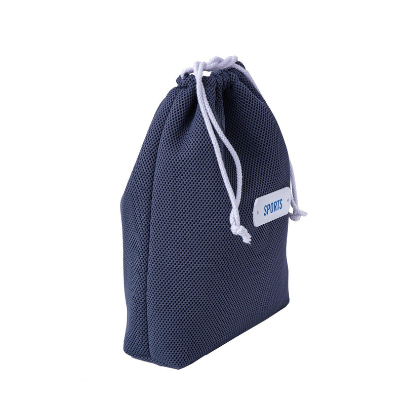 drawstring grey pouch sports