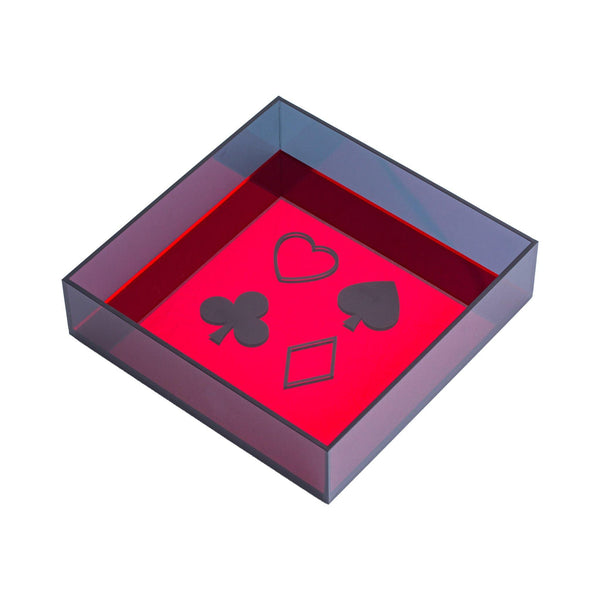 "DORETE Tray ""Card Game"""