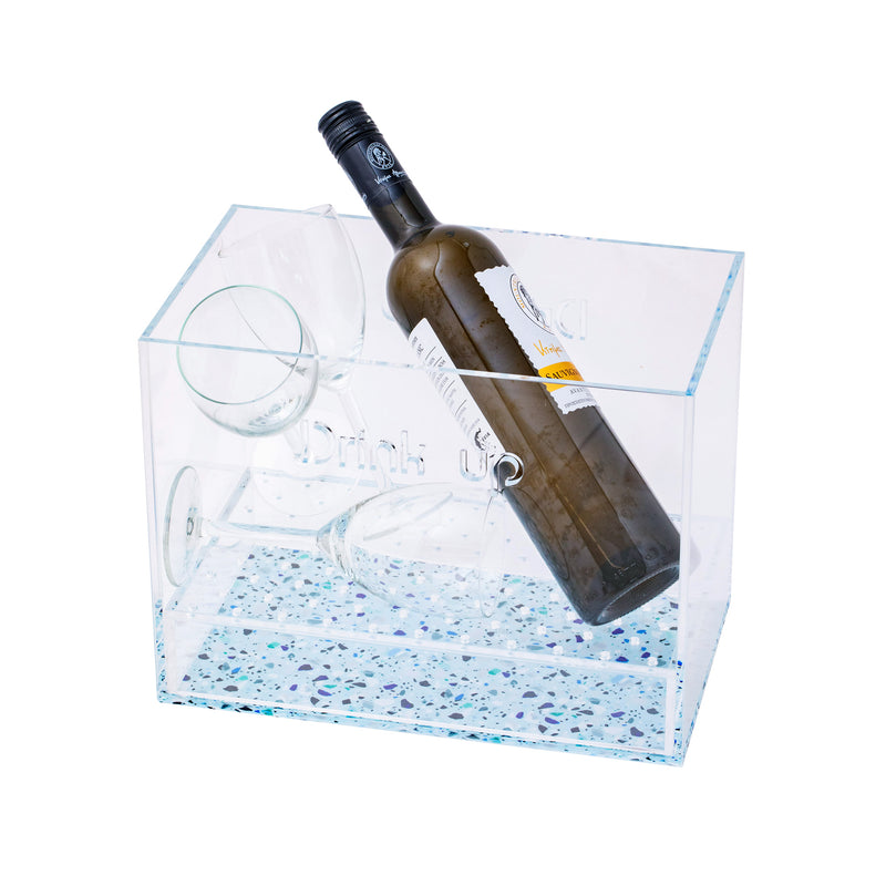 Drunk Wine Cooler Drink Up Mosaic KOKU Concept plexiglas