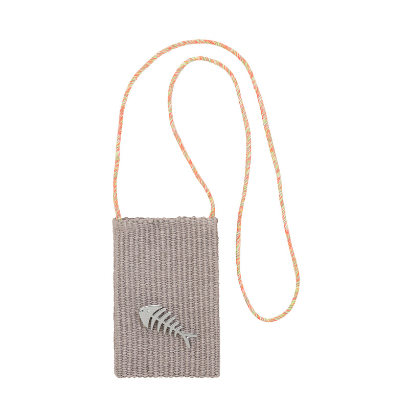M005 | EV Grey Raffia Fish Bone