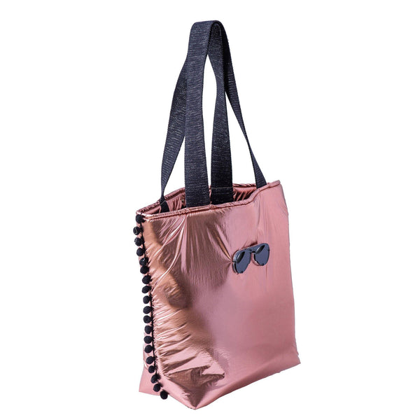 Fay Tote bag small  | Rose Gold Pillow Glasses - KOKU Concept