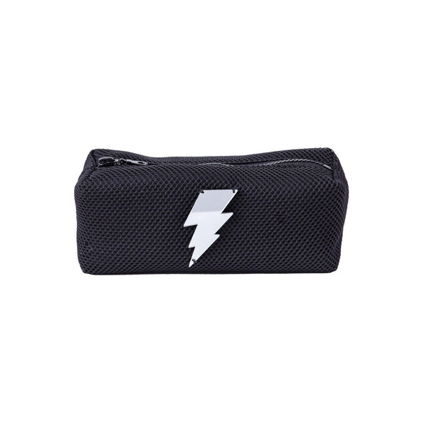 Jazz Pouch | Black Bubbles Lightning