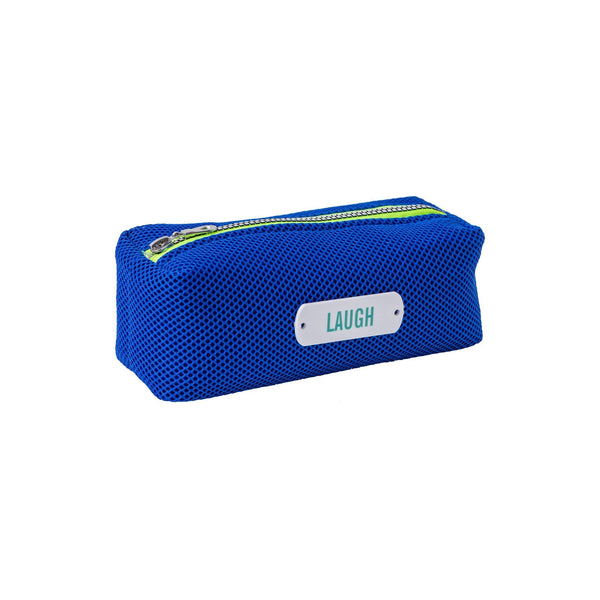 blue pencil case waterproof pouch