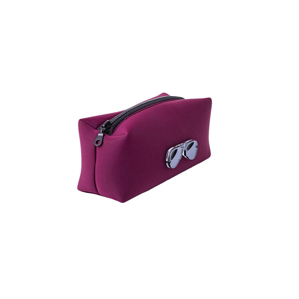 Jazz Pouch | Burgundy Scuba Glasses