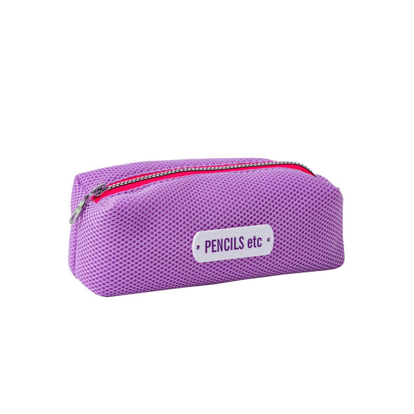 lilac pencil case waterproof kids pouch