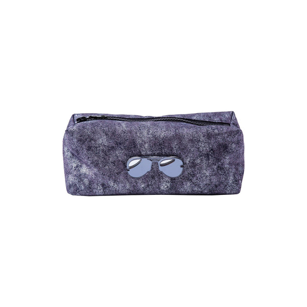 Jazz Pouch | Silver Purple Wash Glasses