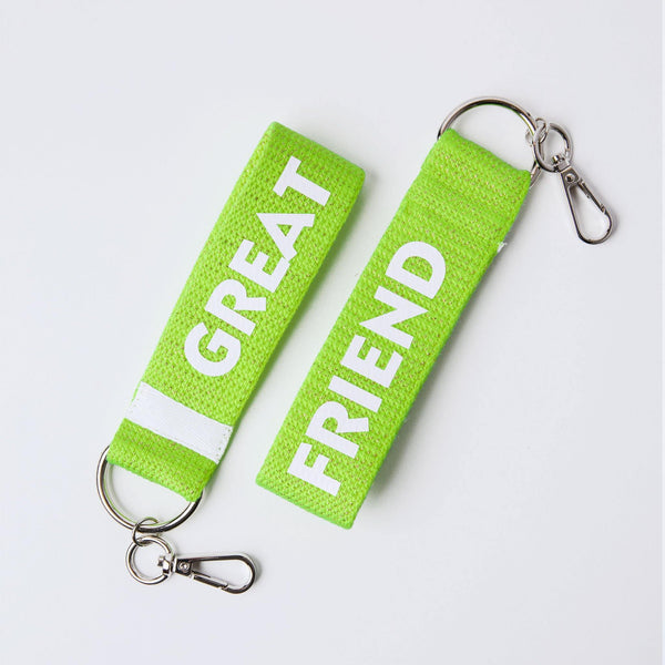 KEY RING GREAT FRIEND