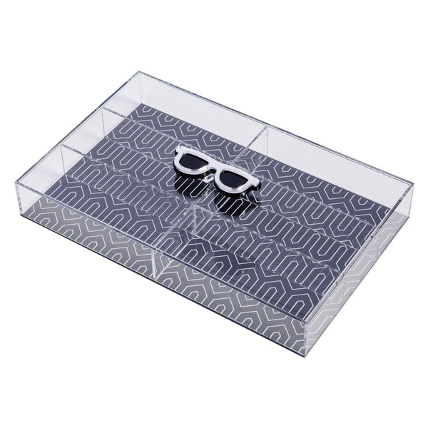 acrylic box glasses container