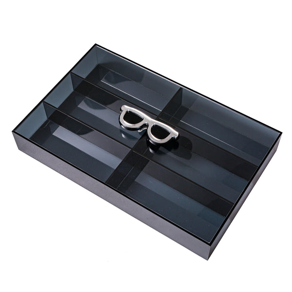 LASH Box Glasses Grey filter KOKU Concept plexiglas