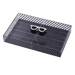 LASH Box Glasses Striped KOKU Concept plexiglas