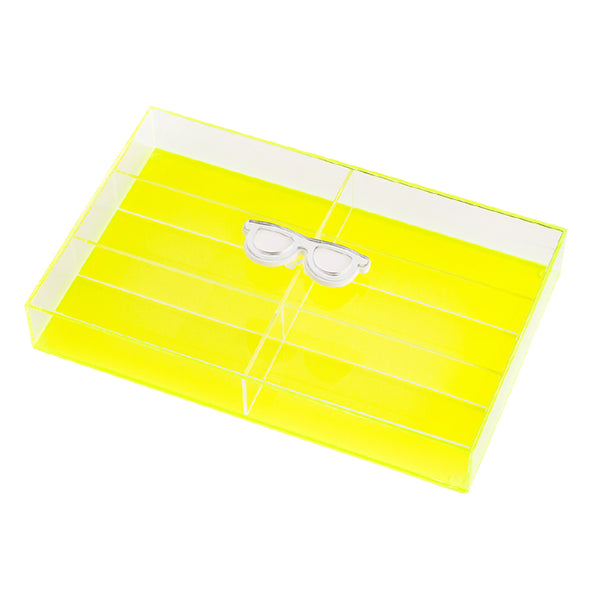 "LASH box ""Yellow fluo"""
