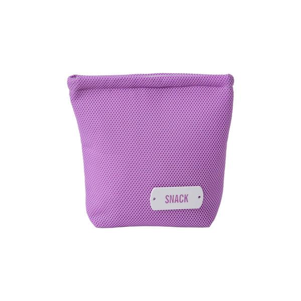 lilac wet bag snacks waterproof