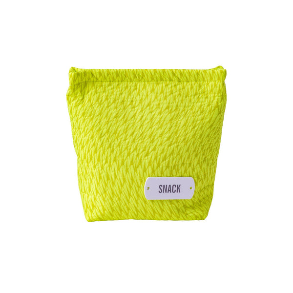yellow fluo wet bag snacks waterproof