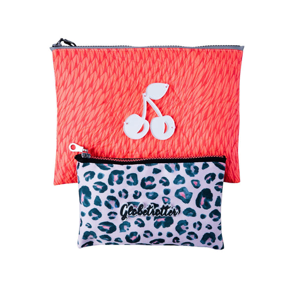 ALL DAY POUCH SET | Coral Globetrotter