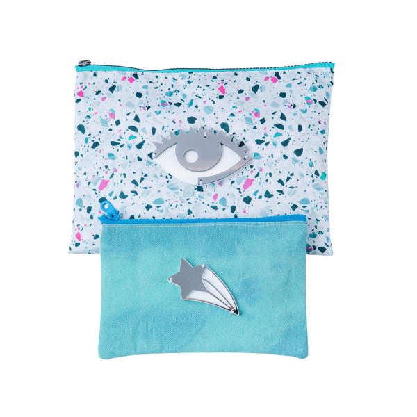 ALL DAY POUCH SET | Mosaic eye & Lashes - KOKU Concept