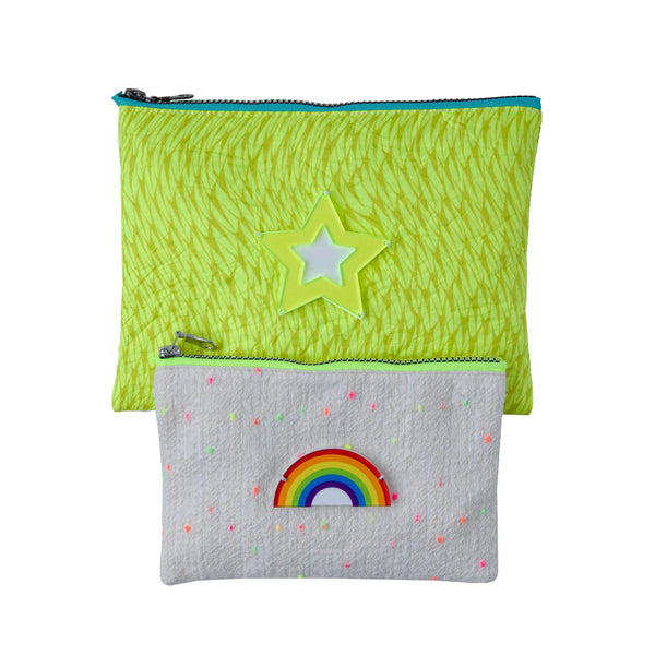 ALL DAY POUCH SET | RAINBOW STAR - KOKU Concept