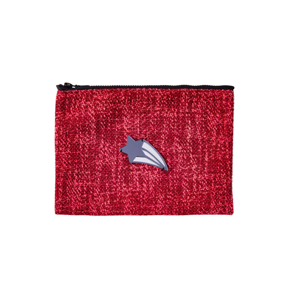 Mia Pochette | Red Woven Shooting Star