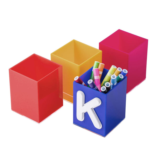 kids monogrammed pencil box