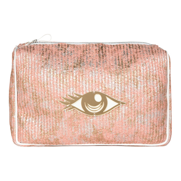 H006 | Olivia Pink Graffiti Evil Eye