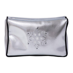 Blaze Beauty bag | Silver Disco Snowflake