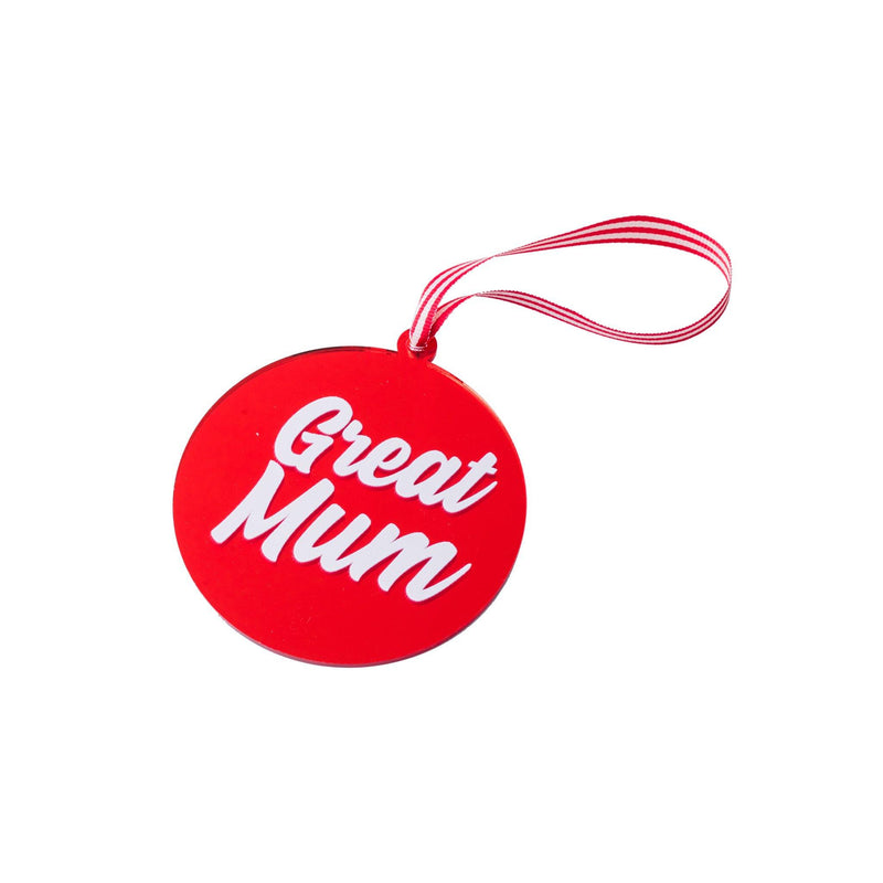 xmas ornaments plexi mom