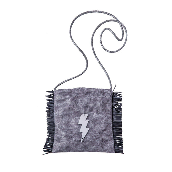 Sandy Cross body bag | Silver Wash Lightning