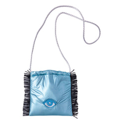 Sandy Cross body bag | Teal Pillow Evil Eye