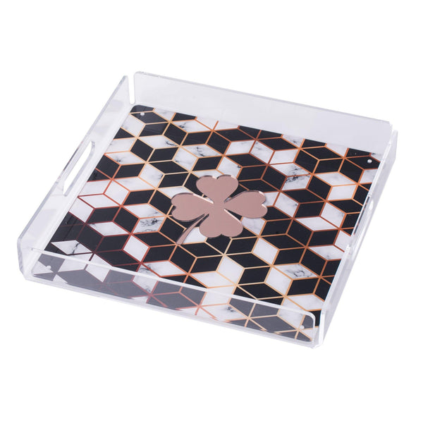 ALBA Serving Tray Pixel Clover KOKU CONCEPT BESPOKE GIFTS