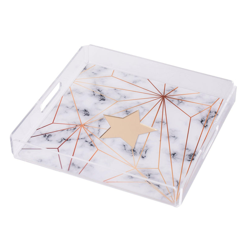 "ALBA Serving Tray ""Marble Star"""