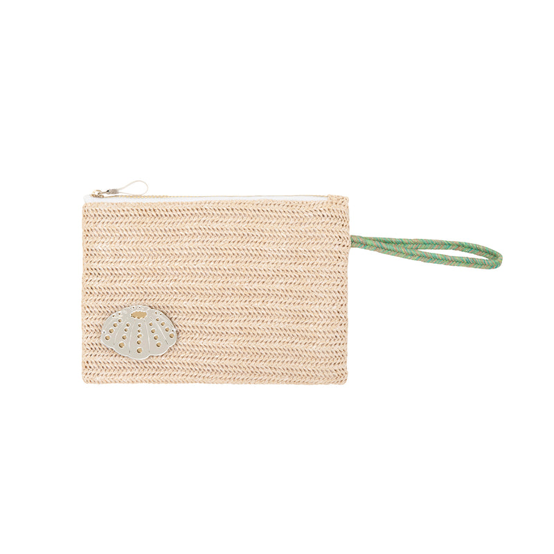 waterproof pouch spring summer collection 2021 acrylic sea urchin-KOKU CONCEPT