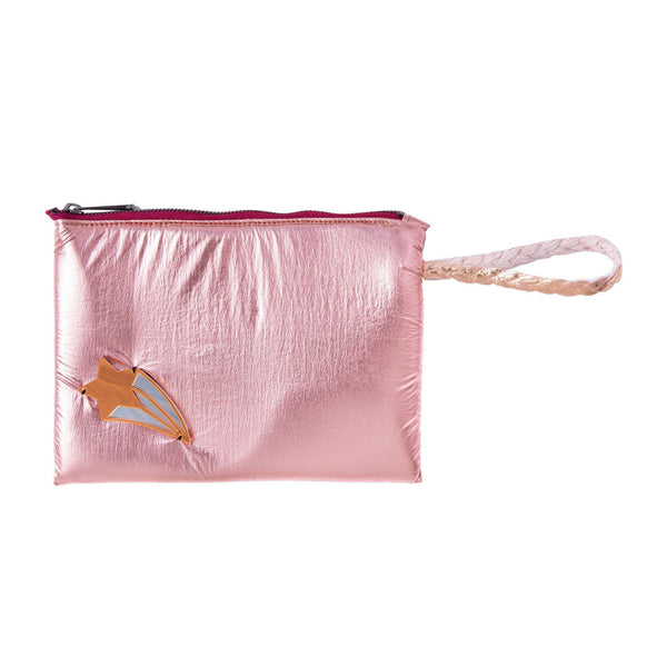 Stella All Day Pouch | Rose Gold Pillow Shooting Star