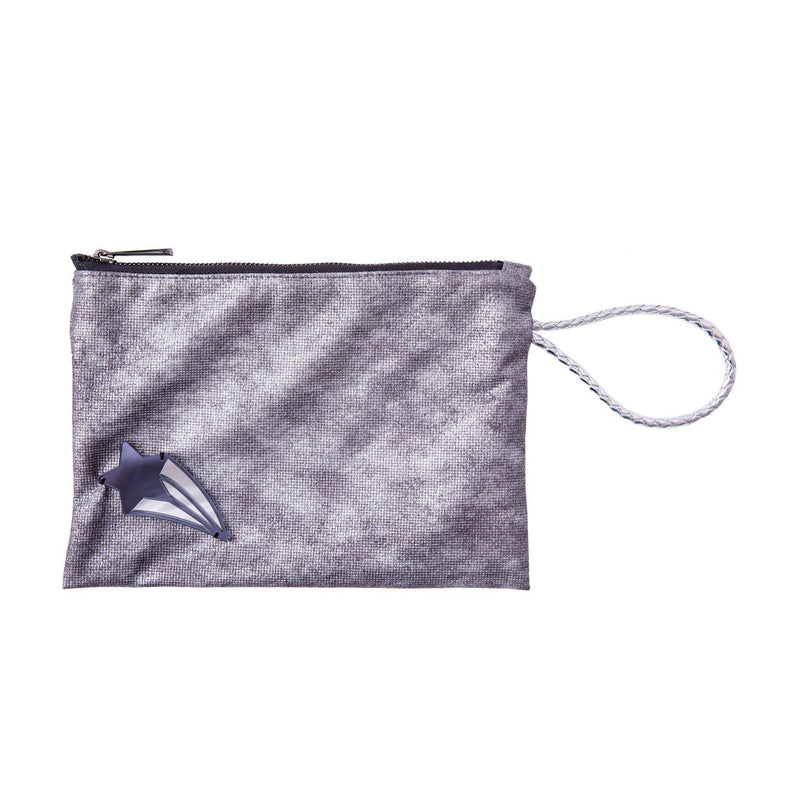 Stella All Day Pouch | Silver Wash Shooting Star