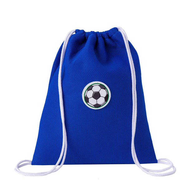 blue drawstring backpack waterproof kids