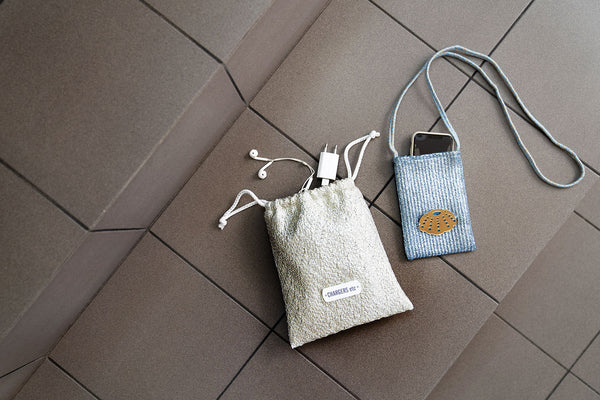 gadget drawstring pouch travel collection - KOKU CONCEPT