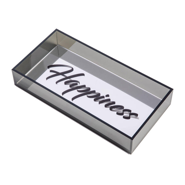 plexiglas tray happiness home