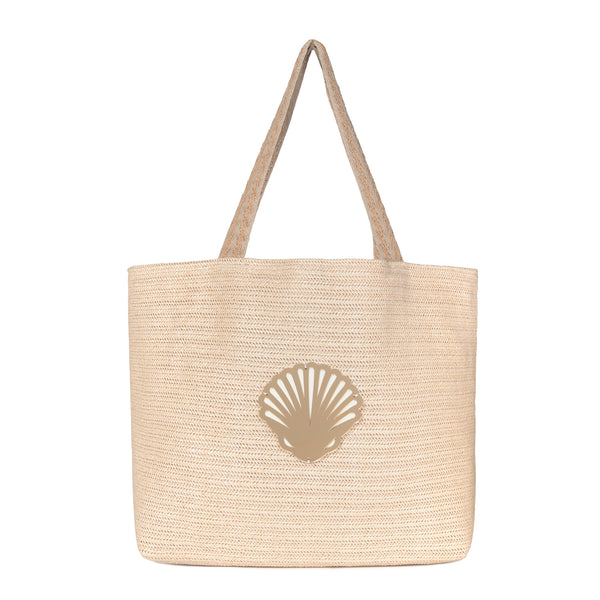 tote bag waterproof spring summer collection 2021 acrylic shell motif-KOKU CONCEPT