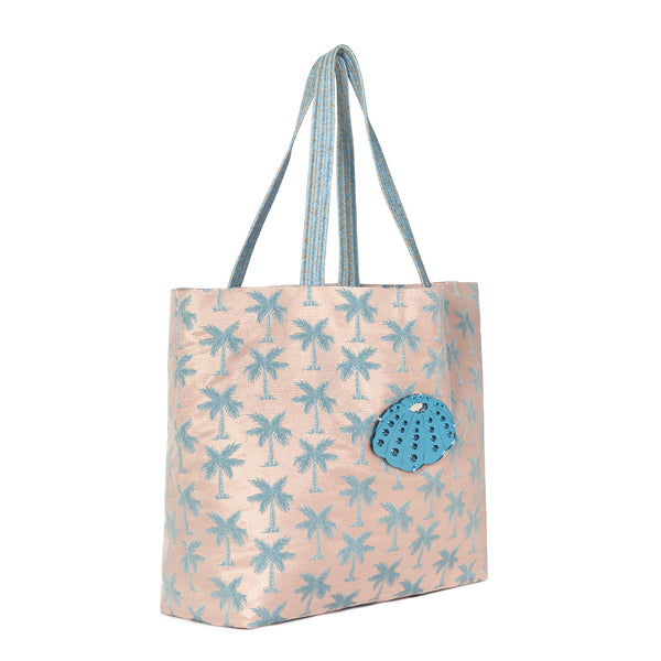 large tote bag waterproof spring summer collection 2021 acrylic motif-KOKU CONCEPT