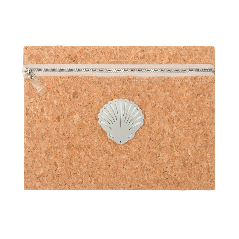 waterproof pouch cork spring summer collection 2021 acrylic shell -KOKU CONCEPT
