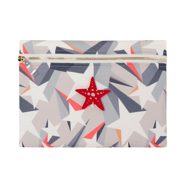 waterproof pouch spring summer collection 2021 plexiglass starfish-KOKU CONCEPT
