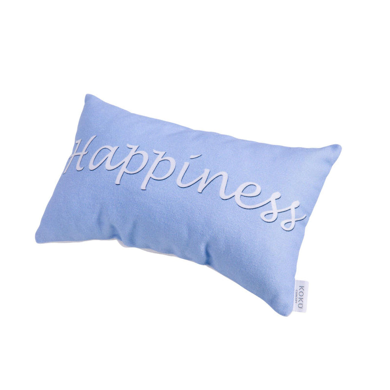 FABRIC PILLOW HAPPINESS