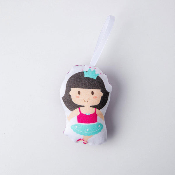 kids tree ornament ballerina