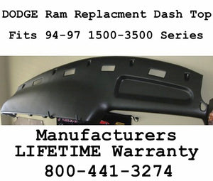 94-97 Dodge Ram Replacement Dash Top FREE Shipping