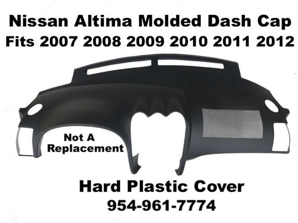 Nissan Altima Plastic Dash Cap Pad Fits 2007 2008 2009 2010 2011 2012 Free Shipping