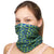 NATUREBlok Washable Reusable Neck Gaiter - OH LA LA - Green Eyed Soul