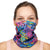 NATUREBlok Washable Reusable Neck Gaiter - OH LA LA Abstract Sky